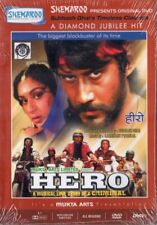 HERO - BOLLYWOOD DVD - Jackie Shroff, Meenakshi Seshadri, Shammi Kapoor.