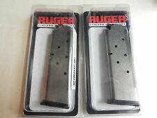 Ruger Factory 8 Round Mag;  P163;  For P345;  90230;  45 Auto;  2 Pack