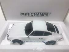 Minichamps Porsche 911 Carrera RSR white / blue 1973 1/18 107065020