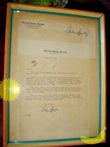USA, United States Senate, Arlen Specter's 1984 Letter and Envelop