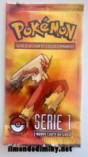 Pokemon BUSTA POP 1 in italiano da collezione rara