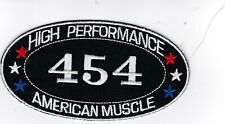 CHEVY 454 (LOT OF 10) SEW/IRON ON PATCH EMBLEM BADGE EMBROIDERED