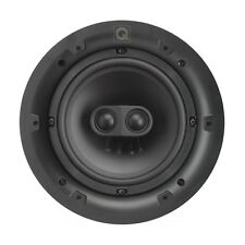 "Single Q-Install QI65ST 6.5"" Performance In-Ceiling Stereo Speaker Round Grill"