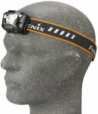 Fenix Headlamp, Cool White LED, 500 Lumens, Adjustable Angle, Rain Proof #HL18RW