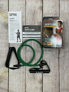 SPRI Xertube Resistance Bands Exercise Cord With Exercise Guide