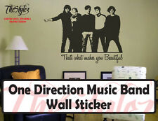 One Direction Custom Wall Vinyl Sticker