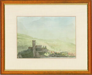 Bob Humphreys - 20th Century Watercolour, Malcesine, Lake Garda