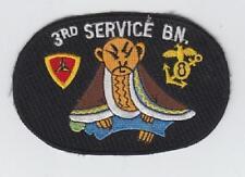 USMC patch: 3rd Service Battalion