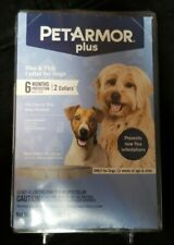 2 Pack Pet Armor Plus Flea And Tick Collar 6 Months Of Protection For Dogs