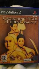 Couching Tiger Hidden Dragon the game for PS2