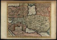 Persia Armenia Mesopotamia Babylonia Arabia c.1710-20 decorative Cluver map