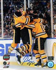 Patrice Bergeron Boston Bruins Signed Autograph Winter Classic Celebration 8x10