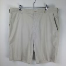 NIKE Men's Golf Shorts Fit Dry Light Cream/White Size 36