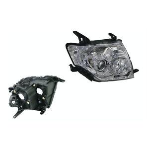 Headlight Right for Mitsubishi Pajero NS/NT/NW/NX 11/2006-09/2015 Halogen Manual