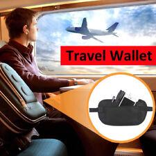 2PCS Travel Hidden Security Passport Money Ticket Waist Bag Card Pocket Wallet