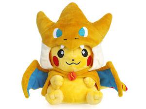 Pokemon Pikachu Pikazard Kuscheltier Plüschtier Plüschfigur Deko Cosplay