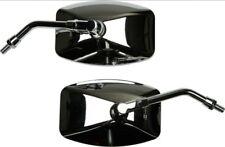 chrome Big Mirrors pair left right Yamaha Roadstar 1600 1700 Road Star Silverado
