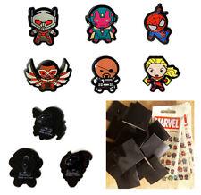 6 Avengers Pins - Vision AntMan SpiderMan Captain Marvel - Collectible Kawaii v2