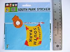 "South Park DEAD KENNY paper stickers decals SET OF 2 5""x6"" SEALED!"