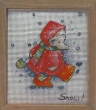 Christmas Noel Winter Humphrey's Corner Cross Stitch Pattern (d1e7p77)