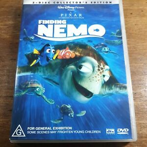 Finding Nemo DVD R4  Like New! FREE POST