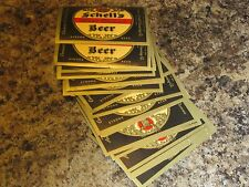 lot of 50  unused  SCHELL'S DEER BRAND STRONG BEER label MN 12oz