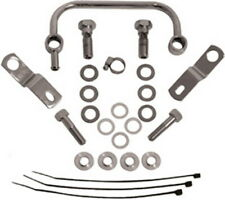 Chrome Manifold Breather Carb Support Kit for Harley Big Twin EVO Twin Cam 93-17