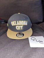 Oklahoma City Thunder OKC New Era 9FIFTY NBA City Edition Snapback Cap Hat