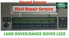 LAND ROVER / RANG ROVER  Mid display screen  radio panel Pixel repair service