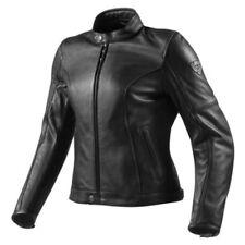 Blousons noirs Rev'it en cuir pour motocyclette