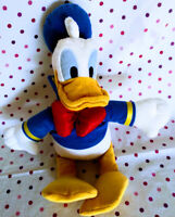 "Donald Duck Sailor Plush Toy 18"" Disney Store Genuine Duck Plush Sailor Donald"