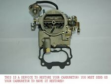 YOUR 1955 78 CHEVY ROCHESTER 2GC CARB RESTORATIONS RECOLORED REPLATED REBUILT