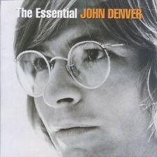 JOHN DENVER (ESSENTIAL - GREATEST HITS 2CD SET SEALED + FREE POST)