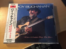 "Roy Buchanan ""When A Guitar Plays The Blues"" JAPAN cd P33P 20030"