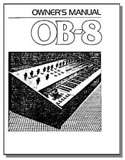 OBERHEIM OB-8 OWNER'S MANUAL - OB 8 OB8