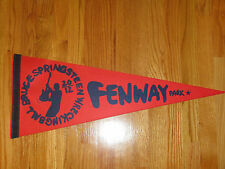 """Rare BRUCE SPRINGSTEEN Fenway Park 8/15 2012 Concert Tour 29"""" Pennant RED SOX"""