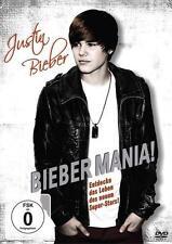 Justin Bieber Bieber Mania (2011)  DVD  Noch originalverpackt !