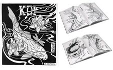 Japanese KOI Tattoo Designs by Horimouja. Stencil Flash - Drawing reference