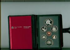 1983 CANADA Double Dollar Proof Set  W/ UNIVERSITY GAMES SILVER DOLLAR CAMEO
