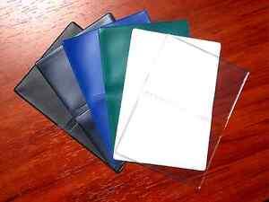 Vinyl Business Card Cases, Debit Credit Gift ID Licenses Slim Wallet Thin Holder