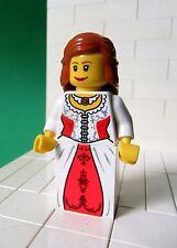Lego Figur Ritter Castle - Kingdoms - Lion Princess - für Set 7947 - No: cas442