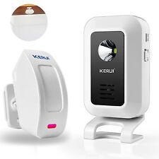 Wireless PIR Motion Sensor Door bell Alarm Entry Doorbell Welcome Chime Infrared