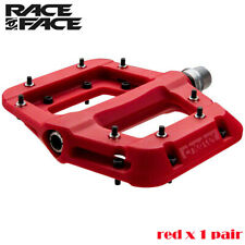 Race Face Chester MTB Bike Mountain Bike Pedals 1 Pair - Red