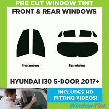 Pre Cut Window Tint - Hyundai i30 5-door Hatchback 2017+ - Full Kit