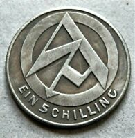 WW2 GERMAN COMMEMORATIVE COLLECTORS COIN 1 SCHILLING S-A