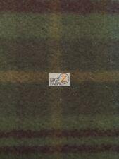 TARTAN PLAID WOOLEN MILLS 100% WOOL FABRIC - Hawthorne - BY THE YARD APPAREL