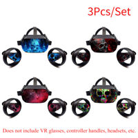 Skin Decals Removable Easy Apply Protective VR Headset Sticker for Oculus Quest