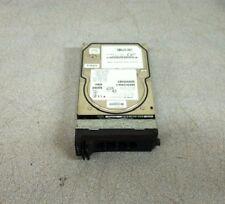 """Hitachi Ultrastar 3.5"""" 72 GB 80 Pin SCSI Hard Drive DK32EJ-72NC w/ Dell Caddy"""