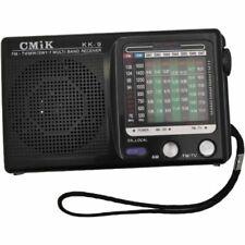 KK-9 Portable AM/FM/SW 1-7/TV Mono Radio Receiver - XMAS stocking filler