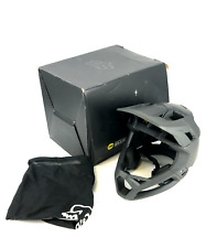 Fox Proframe Full Face MTB Downhill Bike Helmet - Black Medium 56-58cm #NO9626
